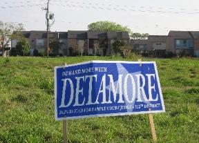 Judicial Campaign Sign | Donna Detamore for Judge - 312th Family District Court in Harris County